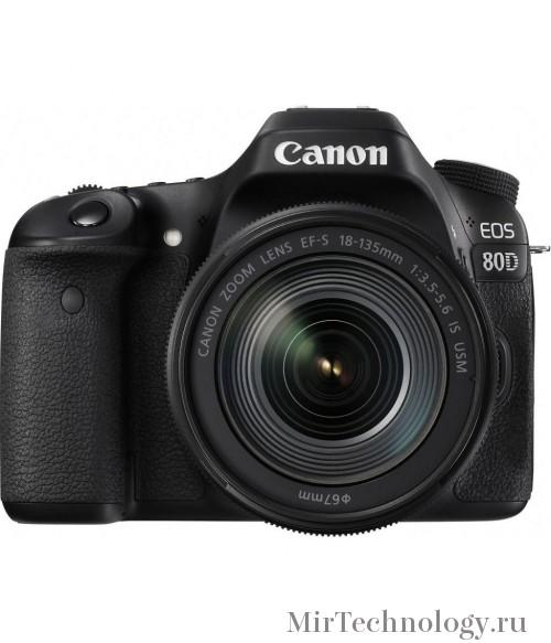 Фотоаппарат Canon EOS 80D Kit EF-S 18-135 nano IS USM