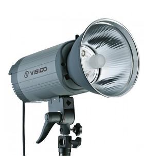 Импульсный свет Visico VС-1000HHLR вспышка студийная с рефлектором