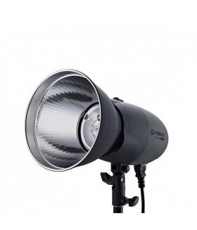Импульсный свет Visico VL-200PLUS вспышка студийная с рефлектором