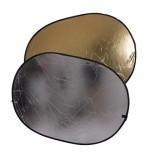 Отражатель 2 в 1 FST RD-021GS 60х90 золото/серебро