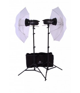 Импульсный свет комплект FST E-180 Umbrella KIT