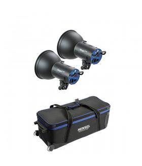 Комплект импульсного света HENSEL INTEGRA MINI 300  2 источника + сумка