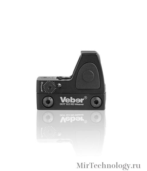 Прицел коллиматорный Veber Black Fox DOT 122 RD Weaver